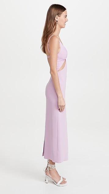 Dion Lee Split Twist Slip Dress