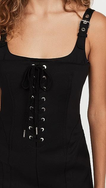 Dion Lee Contour Stitch Mini Dress