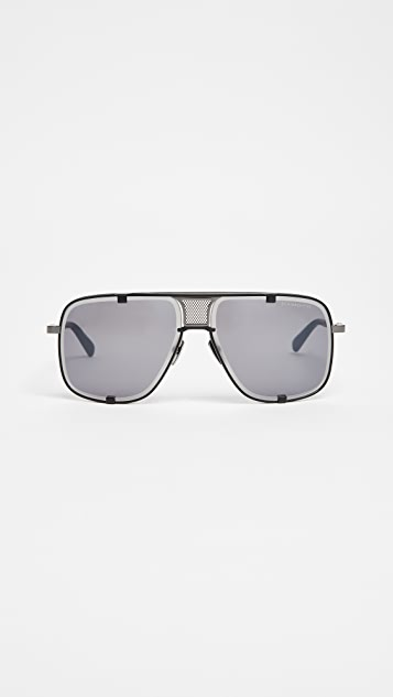 DITA Mach Five Limited Edition Sunglasses - Matte Black/Dark Grey
