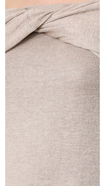 Derek Lam Off Shoulder Twist Sweater