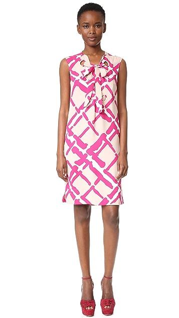 Derek Lam Sleeveless Lace Up Dress