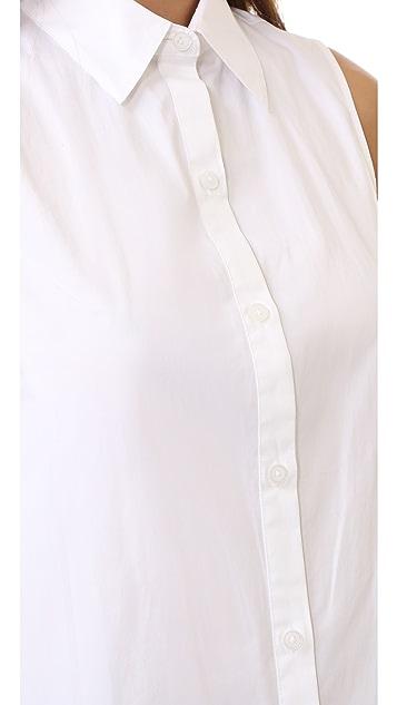 DKNY Button Thru Tunic