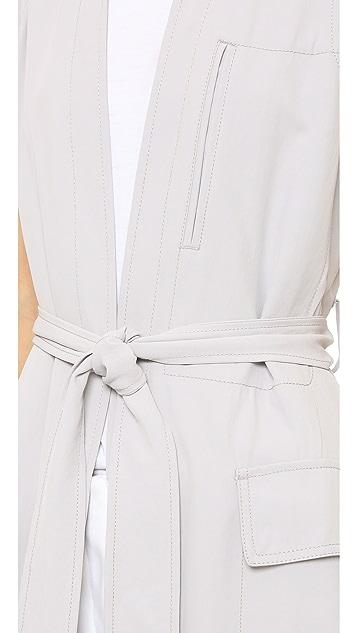 DKNY Pure DKNY Long Trench Vest