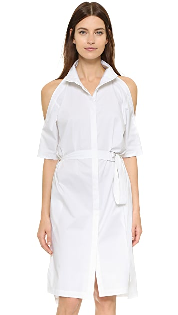 DKNY Cold Shoulder Dress