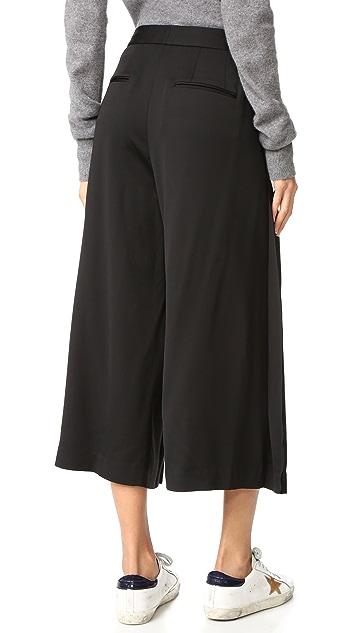 DKNY Юбка-брюки в складку