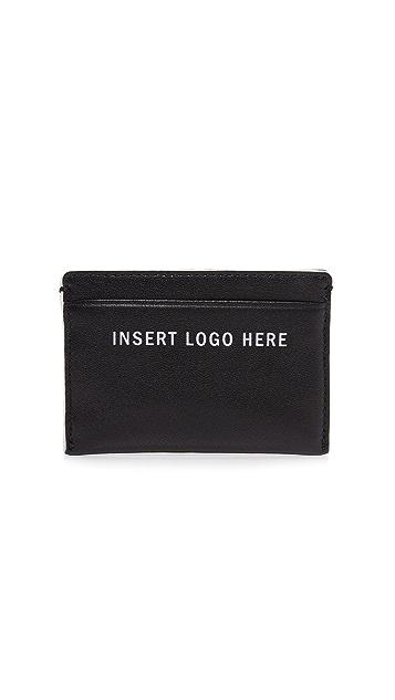 DKNY INSERT LOGO HERE Card Holder