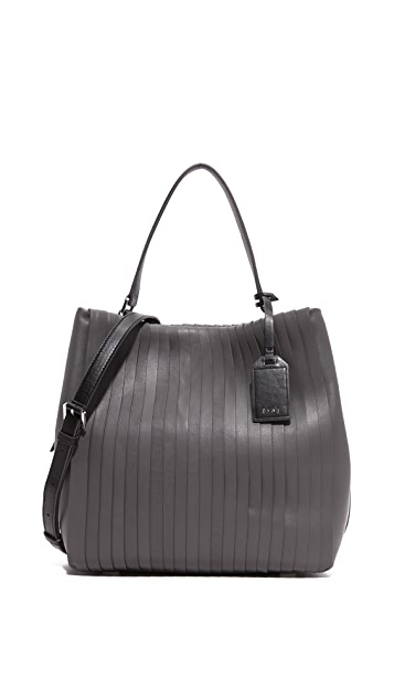 de6a19f0cd DKNY Pleated Bucket Bag | SHOPBOP