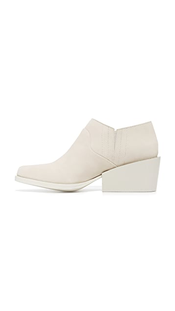 DKNY Lynn Low Cut Wedge Booties