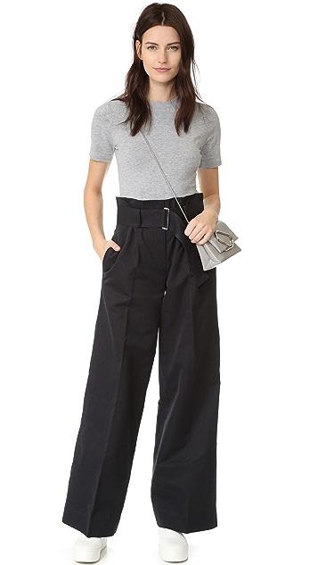 DKNY Short Sleeve Crew Neck Bodysuit