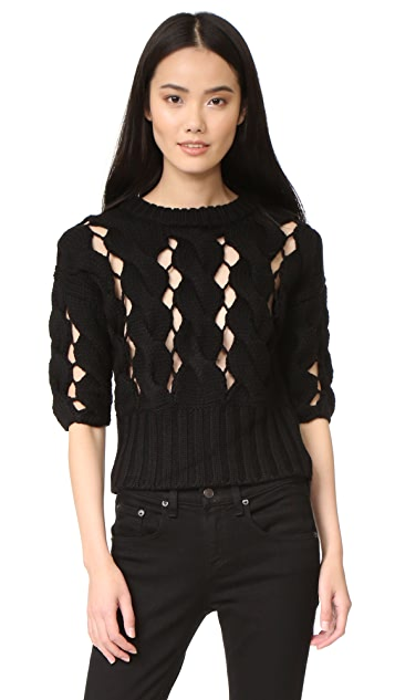 DKNY Cropped Sweater