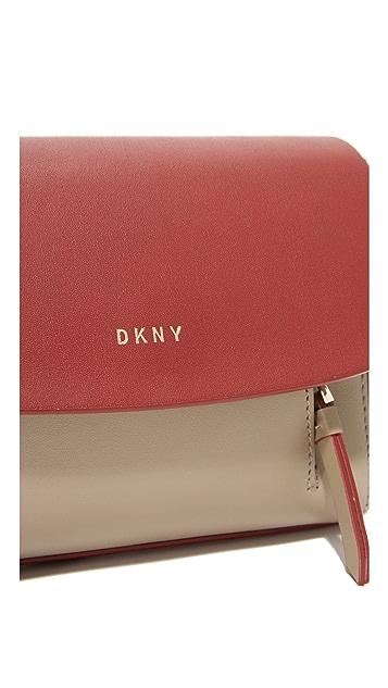 DKNY Grennwich Mini Flap Cross Body Bag
