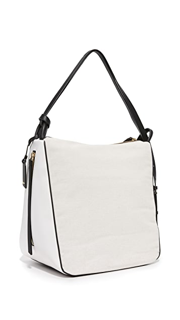 DKNY Canvas Hobo Bag