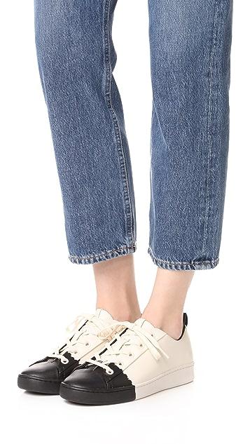 DKNY Brayden Luxe Classic Court Sneakers