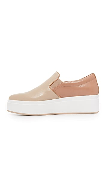 DKNY Trey Platform Slip On Sneakers