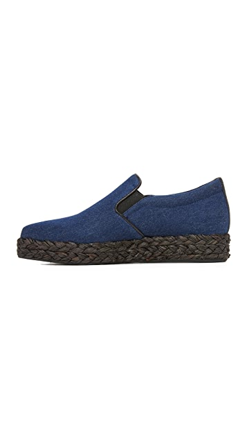 DKNY Trey Denim Espadrilles