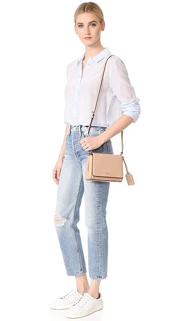 DKNY Bryant Park Mini Flap Cross Body Bag