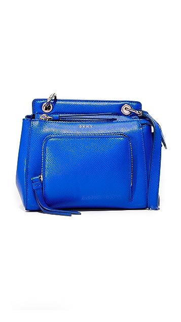 DKNY Миниатюрная сумка Bryant Park с ручкой сверху
