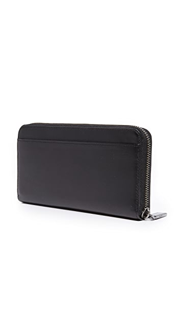 DKNY Large Zip Around Wallet