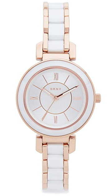 DKNY Ellington Ceramic Watch