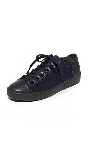 DKNY Brayden Stretch Classic Court Sneakers