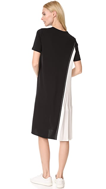 DKNY Dress with Pleats