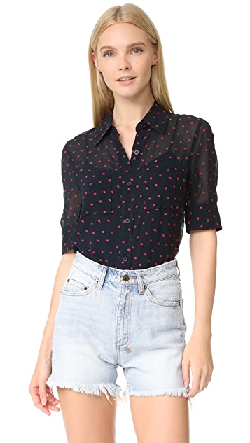 DKNY Embroidered Shirt