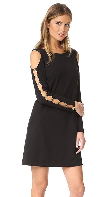 DKNY Long Sleeve Dress