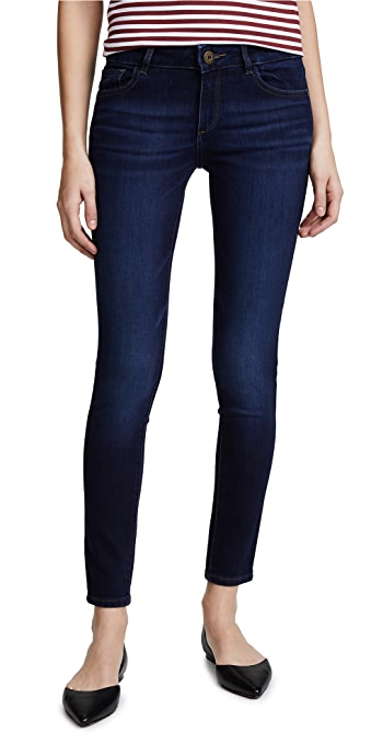 DL1961 Emma Power Legging Skinny Jeans - Albany