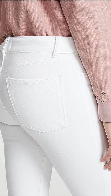 DL1961 Укороченные джинсы-скинни Florence