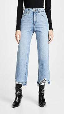 Hepburn High Rise Wide Leg Jean