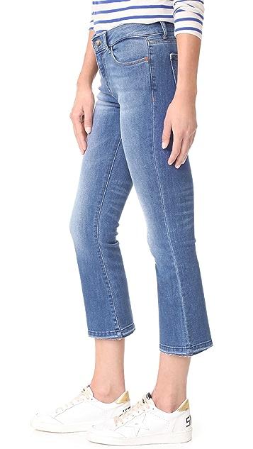 DL1961 Lara Instasculpt Cropped Flare Jeans