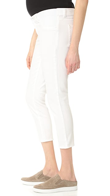 DL1961 Florence Crop Maternity Jeans