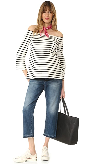 DL1961 Patti High Rise Straight Maternity Jeans