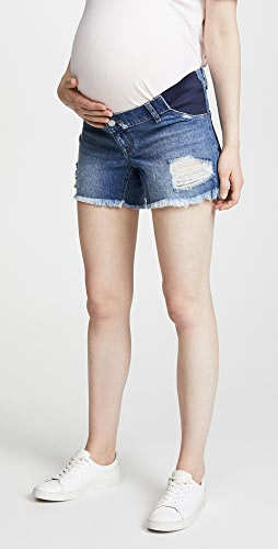 DL1961 - Karlie Boyfriend Maternity Shorts