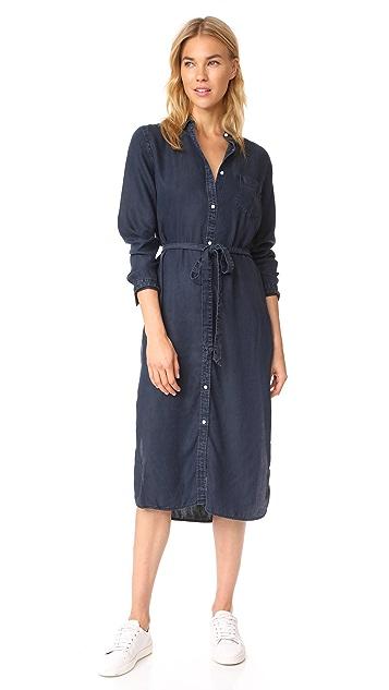 DL1961 Allen & Stanton Maxi Shirtdress