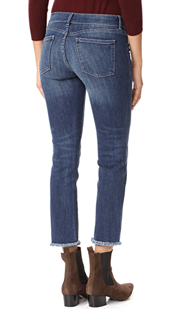 DL1961 Mara Maternity Straight Cropped Jeans