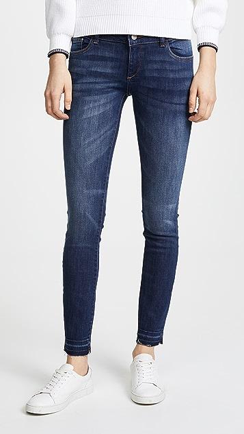 DL1961 Cameron Low Rise Skinny Jeans - Eden