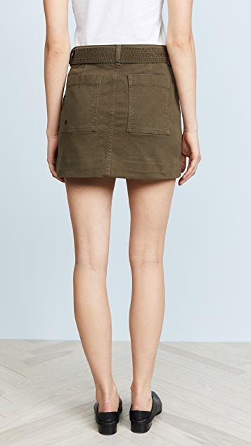 DL1961 Parker High Rise Skirt
