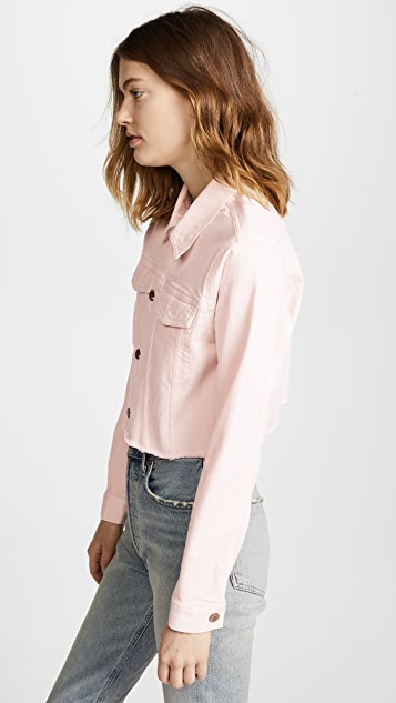 DL1961 Shawn Cropped Boyfriend Jacket