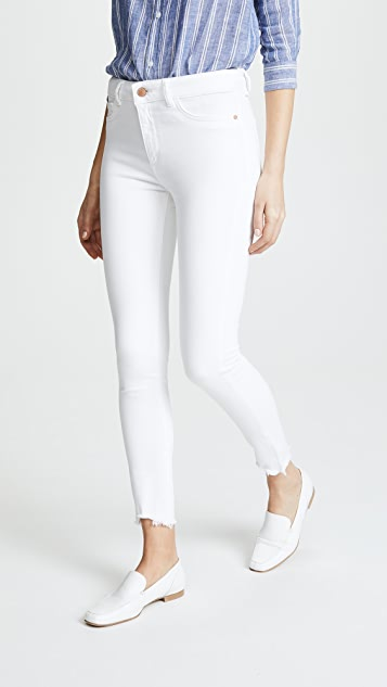 DL1961 Farrow Ankle Instaslim High Rise Skinny Jeans - Cape Cod