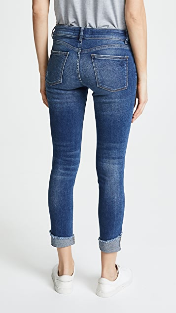 DL1961 Florence Cuffed Instasculpt Skinny Jeans