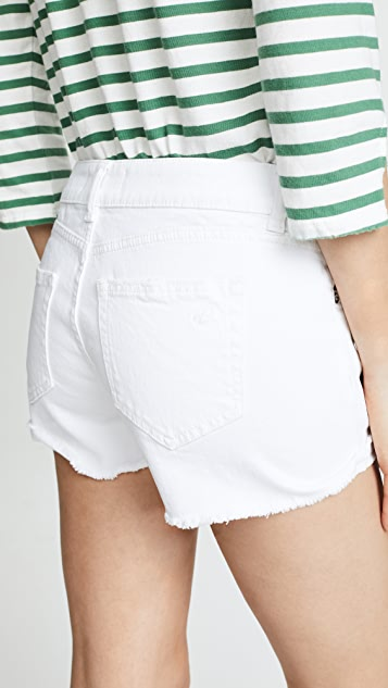 DL1961 Karlie Boyfriend Shorts
