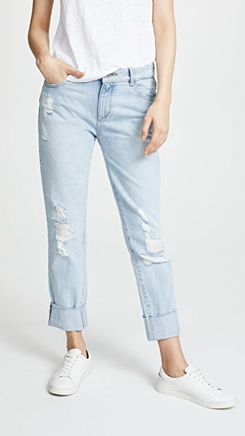 DL1961 Stevie Rigid Slim Boyfriend Jeans