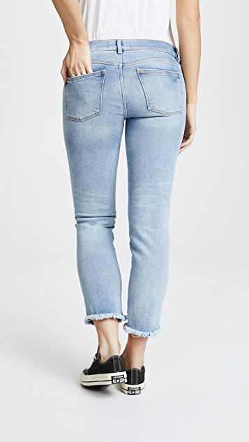 DL1961 Mara Straight Ankle Instasculpt Maternity Jeans