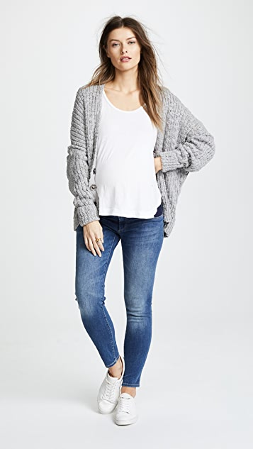 DL1961 Angel Ankle Maternity Skinny Jeans