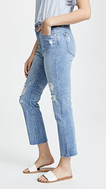 DL1961 Jerry High Rise Vintage Straight Leg Jeans