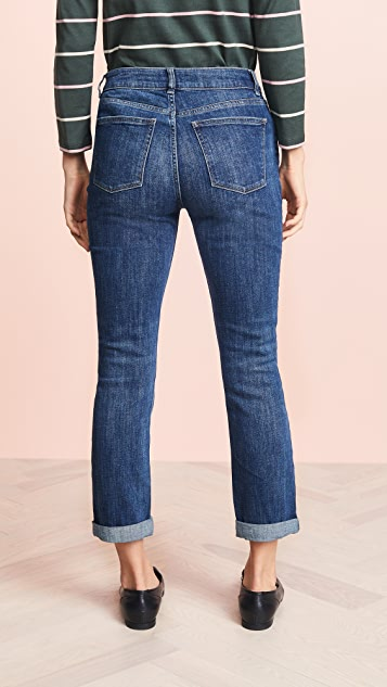 DL1961 Stevie Slim Boyfriend Jeans
