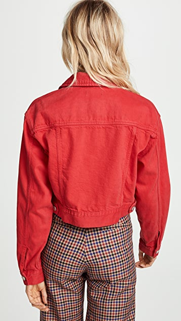 DL1961 Annie Cropped Denim Jacket