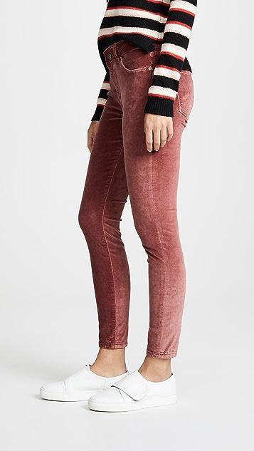 DL1961 Margaux Instasculpt Velvet Skinny Jeans