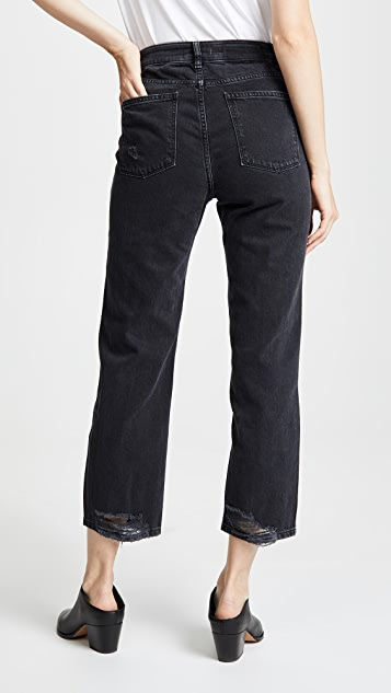 DL1961 Jerry High Rise Straight Leg Jeans